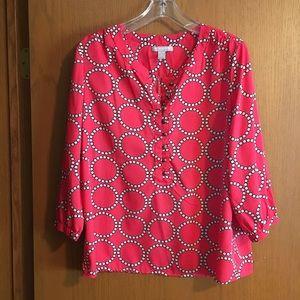Banana Republic 3/4 sleeve blouse